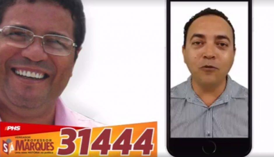 Professores de São Luís declaram apoio ao candidato a vereador Sá Marques