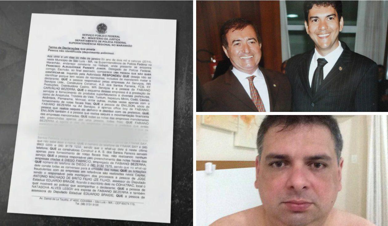 Esquema de fantasmas de Eduardo Braide foi denunciado pelo Fantástico em 2014