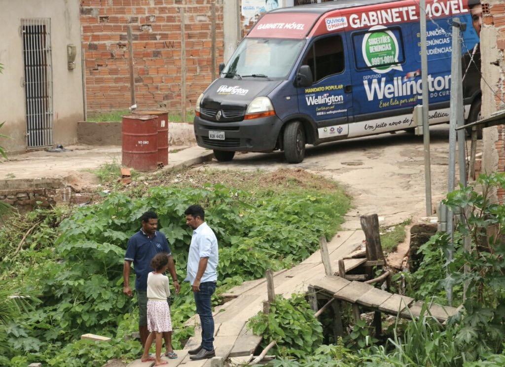 """Wellington reativa """"Gabinete Móvel"""" com ação na Zona Rural"""