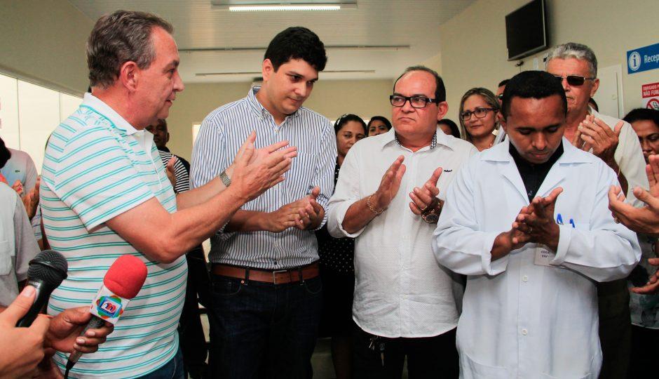 Ribamar: Luis Fernando coloca UBS do Recanto Verde para funcionar