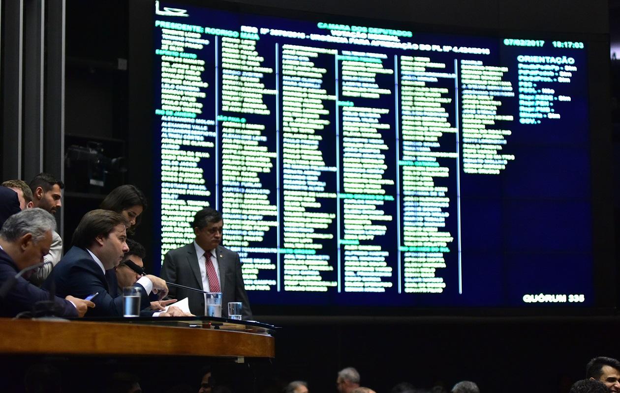 Câmara aprova urgência de projeto que tira poderes do TSE