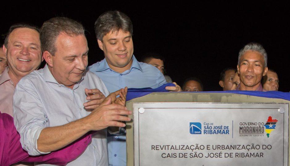 Luis Fernando entrega Cais de São José de Ribamar