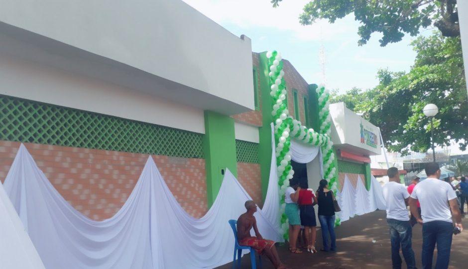Prefeitura de Pinheiro reinaugura Mercado Manoel Tucura