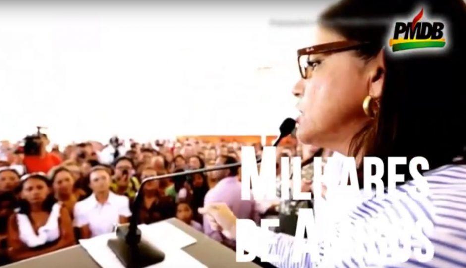 Roseana Sarney contrapõe Flávio Dino com programas e grandes obras