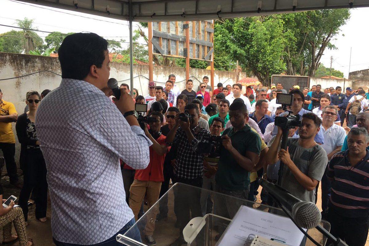 Retomada das obras de reabastecimento em Pinheiro beneficiará 20 mil habitantes