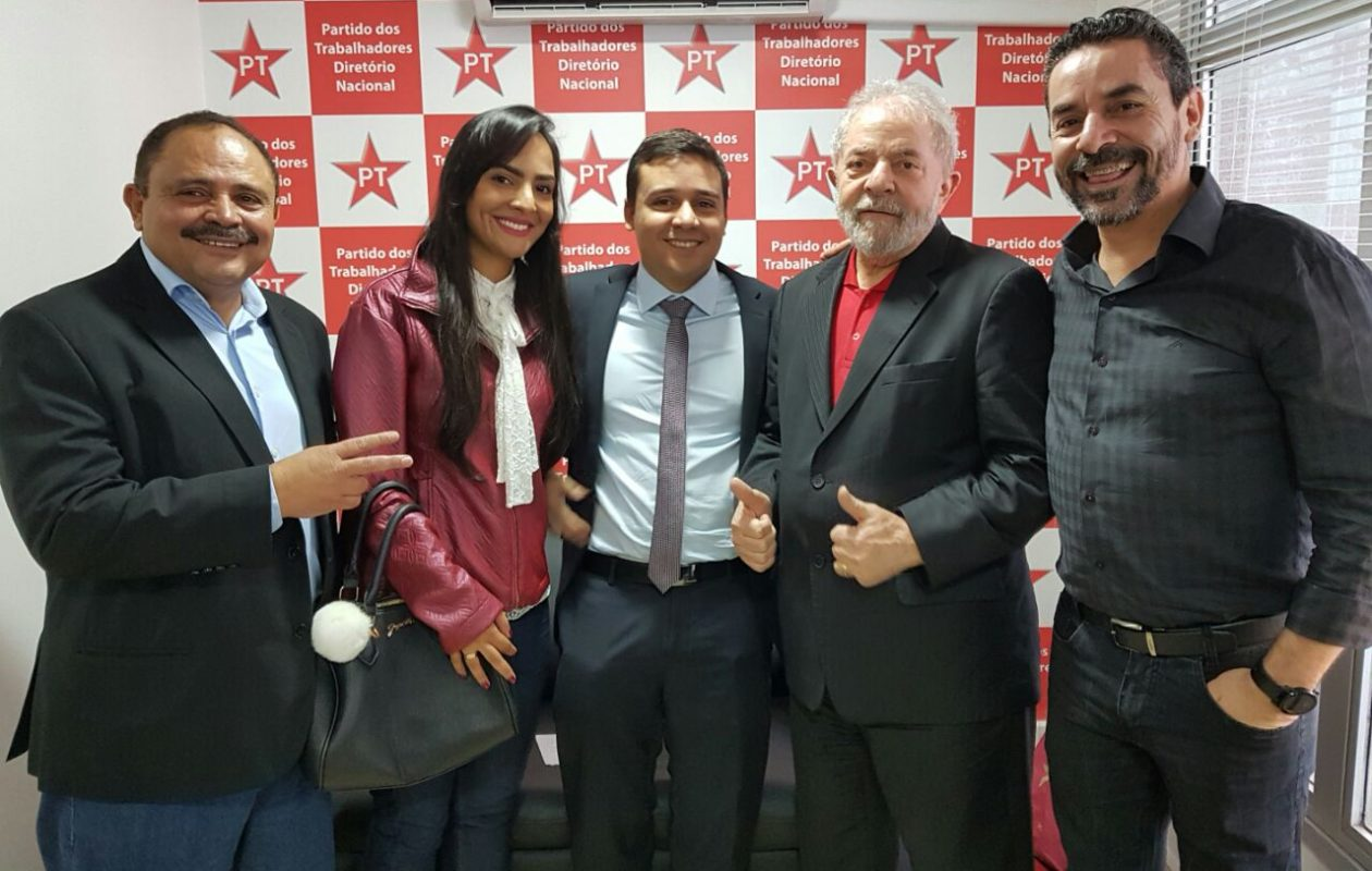 Lula declara apoio à pré-candidatura de Waldir Maranhão ao Senado