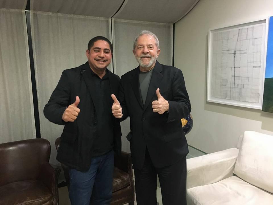 Zé Inácio cola em Lula por sobrevivência política