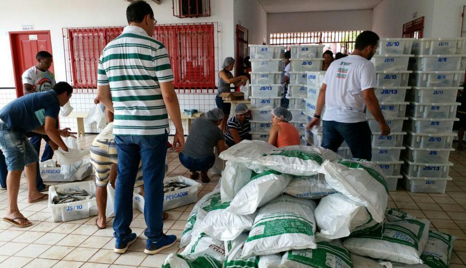 Prefeitura de Pinheiro realiza nova edição do programa Peixe na Mesa