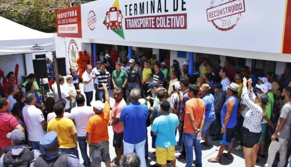 Mais de 25 obras e serviços foram entregues na comemoração de aniversário de Ribamar