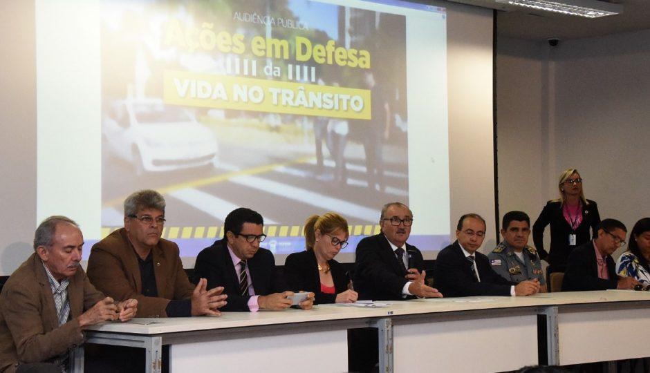 Ações por mais segurança no trânsito são debatidas em audiência pública