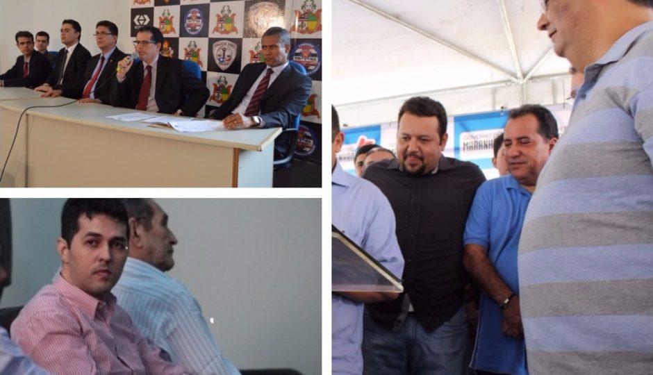 Empresas de Eduardo DP e Gláucio Alencar já faturaram R$ 121,2 milhões no governo Dino