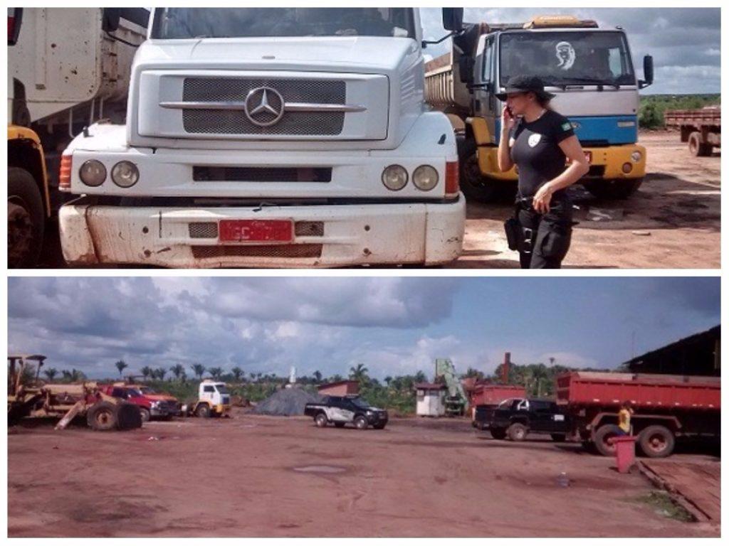 Em março de 2015, policiais da Seccor chegaram a apreender caçamba com registro de roubo e a apreender maquinários e documentos da Construservice