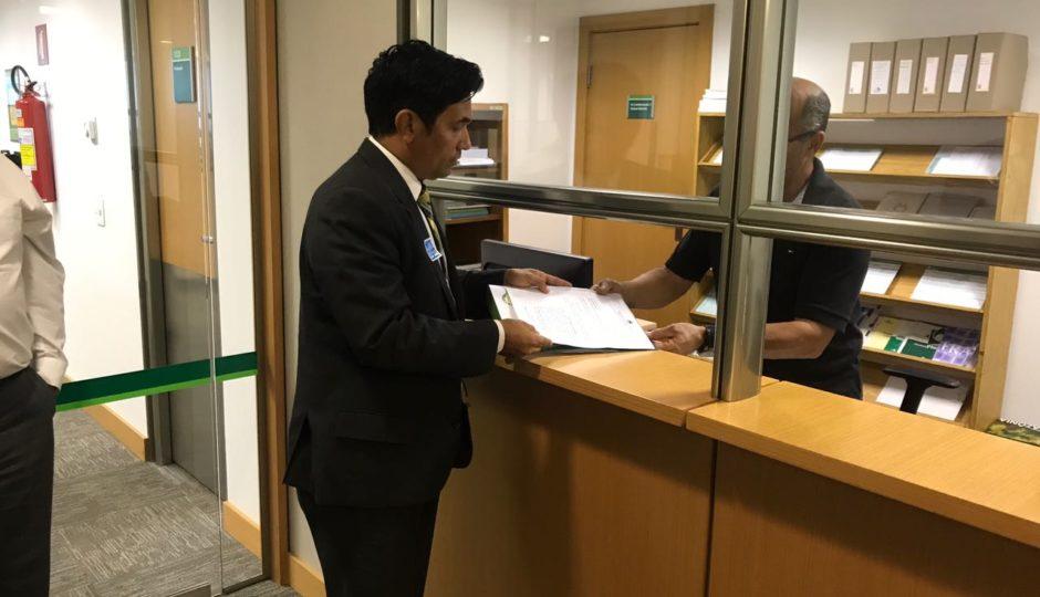 Wellington entrega à CGU e ao TCU denúncia contra o governo Flávio Dino