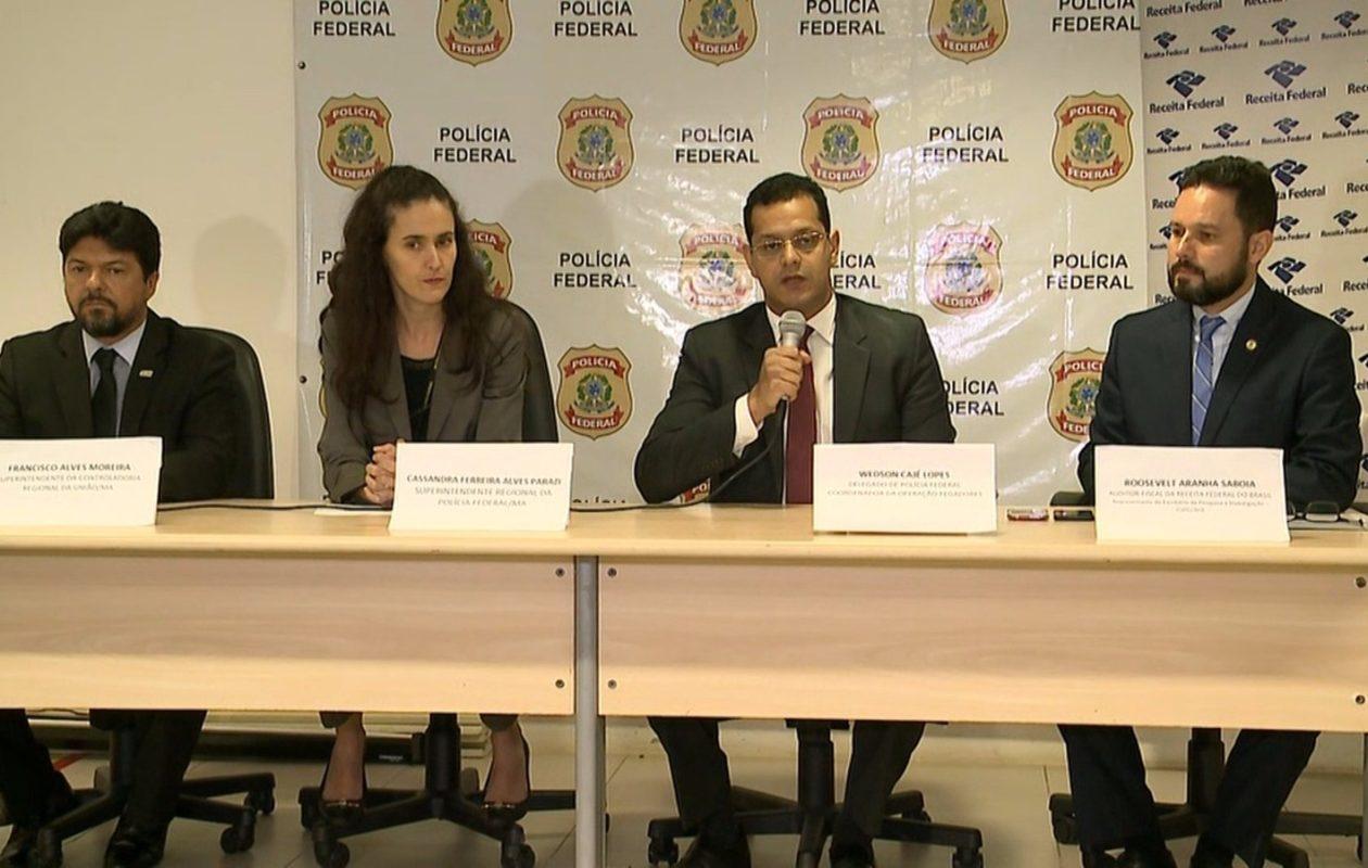 Pegadores: PF pediu prisão preventiva de Orcrim desde novembro de 2016