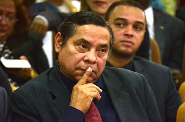 O desembargador Tyrone Silva, alvo de investigações no CNJ por concessões de habeas corpus e mandado de segurança que beneficiaram o narcotraficante e o agiota