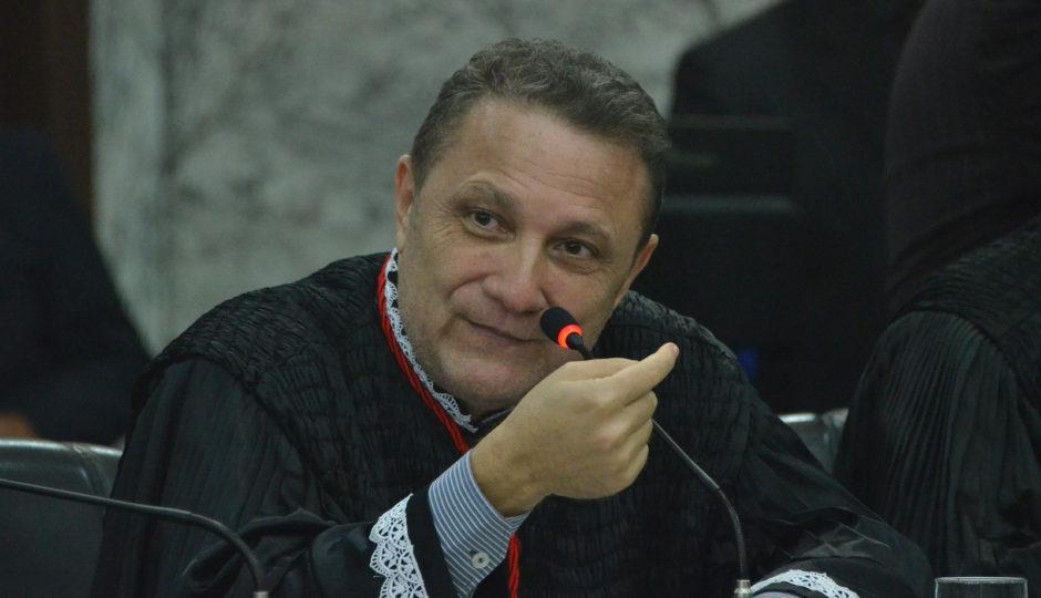 Página do TJ-MA ainda mostra Cleones Cunha como presidente da Corte