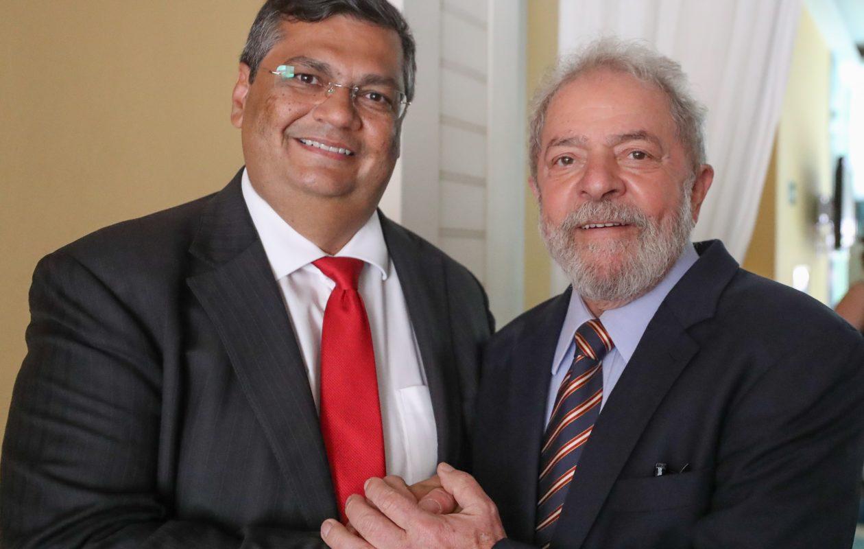 Lula defende frente ampla e cita Dino entre presidenciáveis da esquerda para 2022