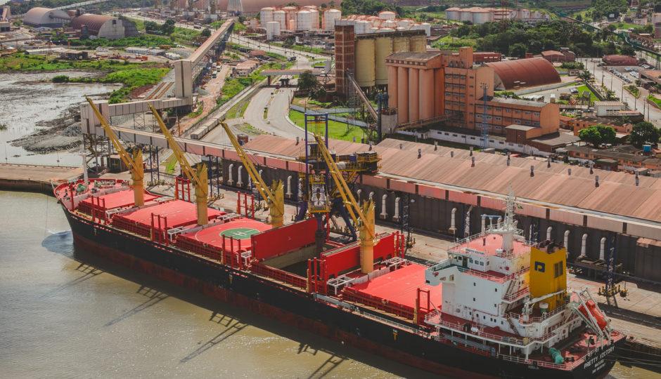 Porto do Itaqui movimentou 19,1 milhões de toneladas de cargas em 2017