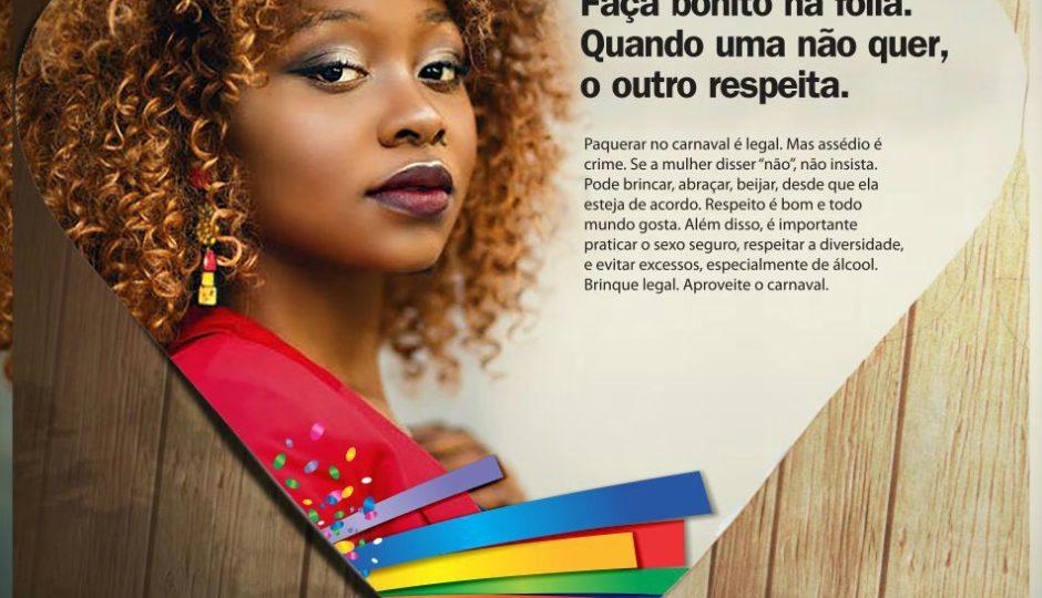 Assembleia Legislativa do MA lança campanha contra assédio no Carnaval