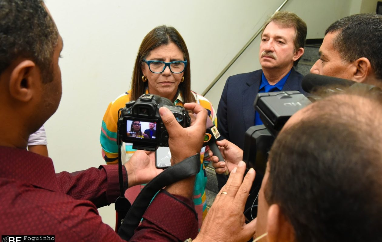 Roseana e Flávio Dino remarcam agenda em Imperatriz para março