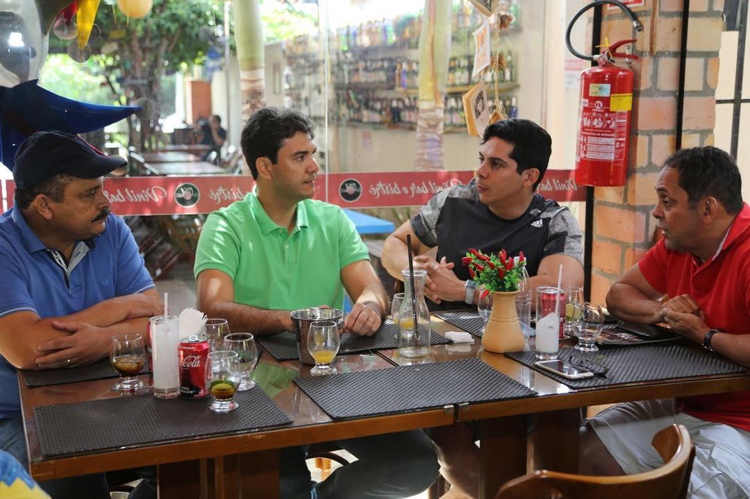 Por sobrevivência, Braide decai e já senta com Waldir Maranhão e Paulo Marinho