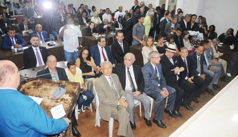 Câmara Municipal de São Luís homenageia ex-presidentes