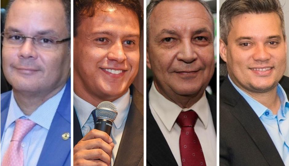 Cafeteira, Camarão, Evangelista e Luis Fernando fecham filiação ao DEM