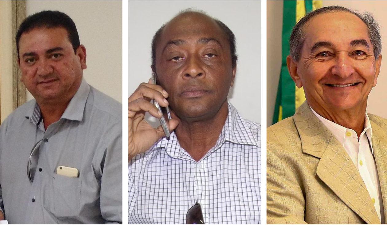 Amarildo Costa, Júnior de Fabrício e João Dominici têm bens bloqueados