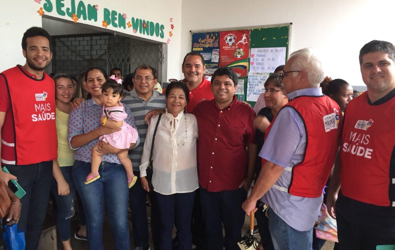 Pré-candidato, Márcio Jerry participa de ações do governo e da prefeitura