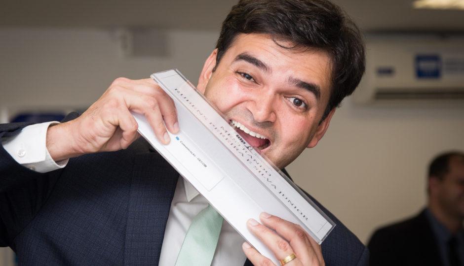 Rubens Júnior já gastou R$ 614 mil da cota parlamentar com jornal do DF