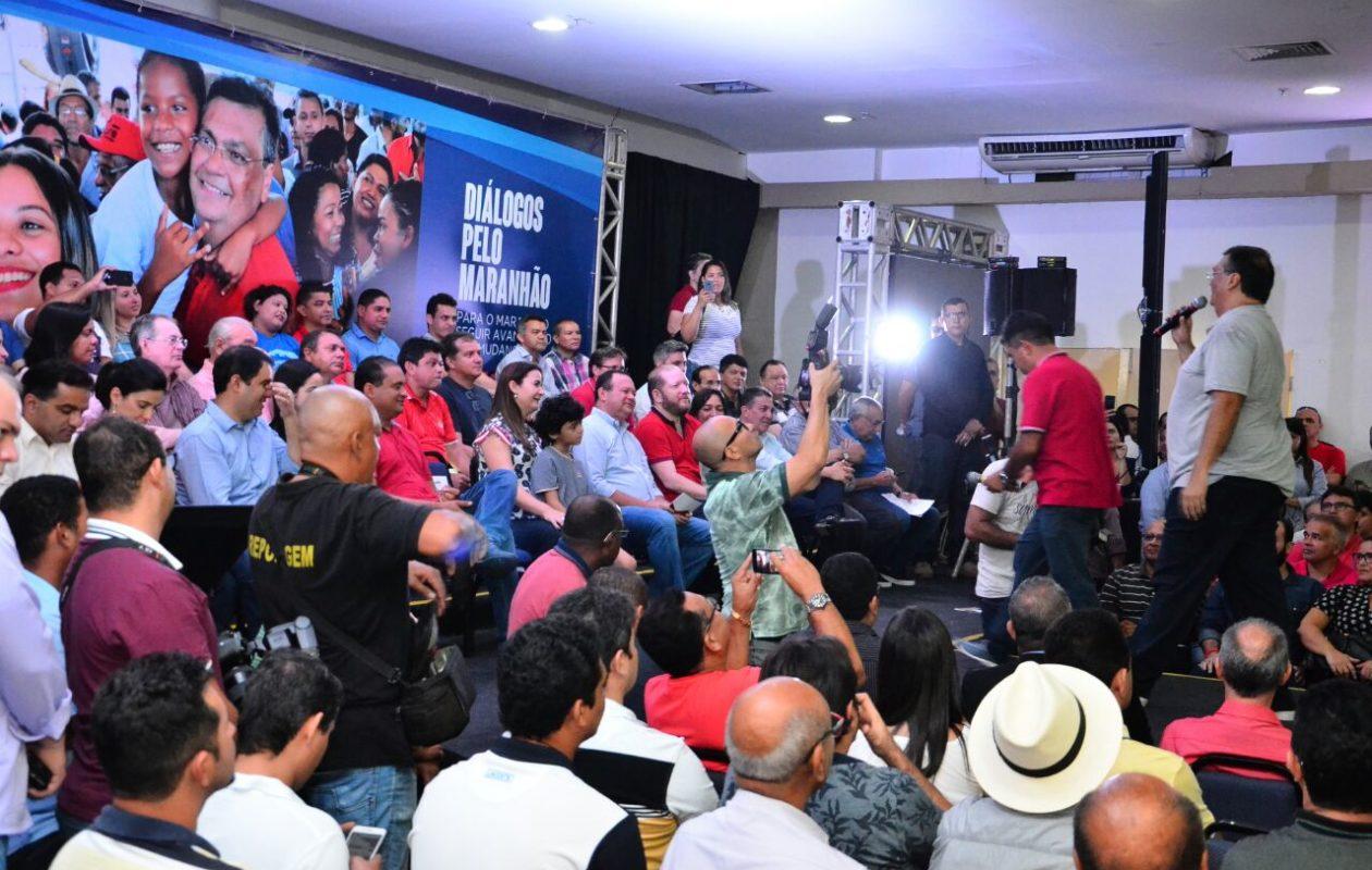 No poder, Dino escanteia população e promove 'Diálogos' com caciques