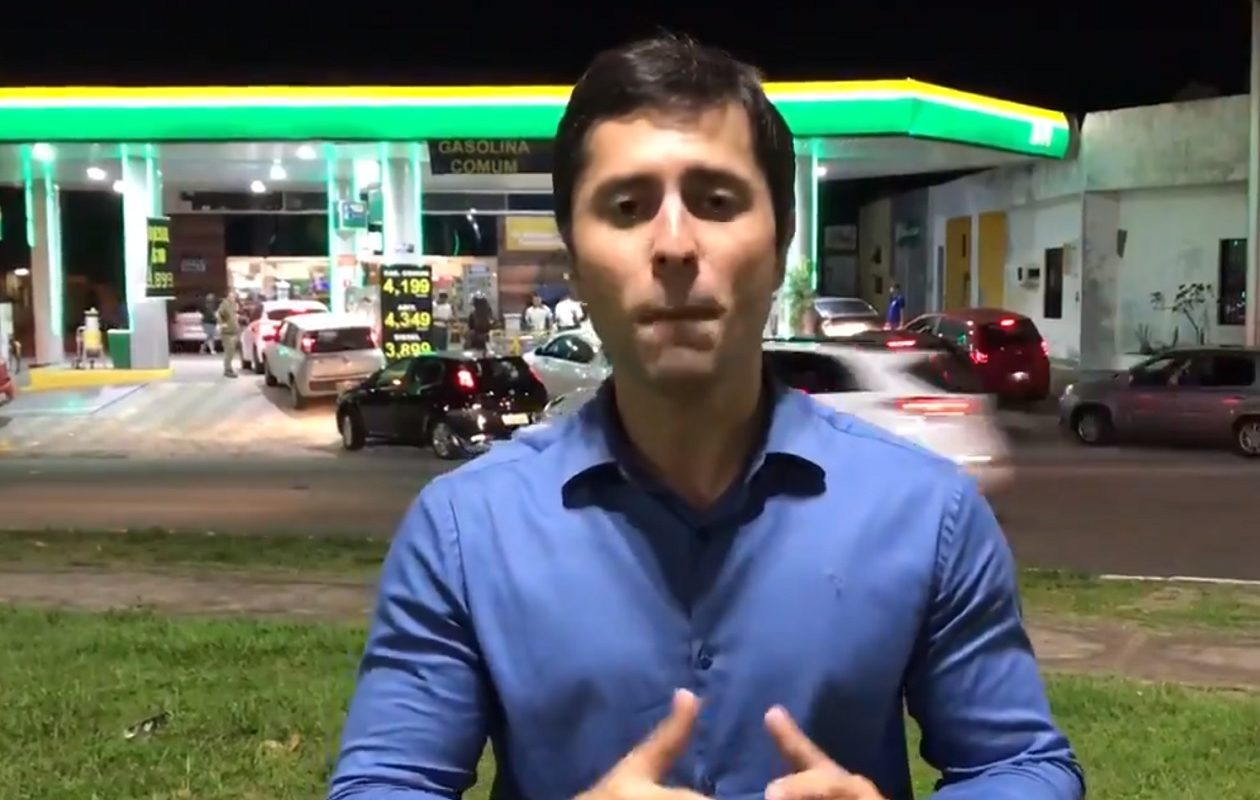 """""""Óbvio que tá caro!"""", admite Duarte Júnior sobre preço dos combustíveis no MA"""