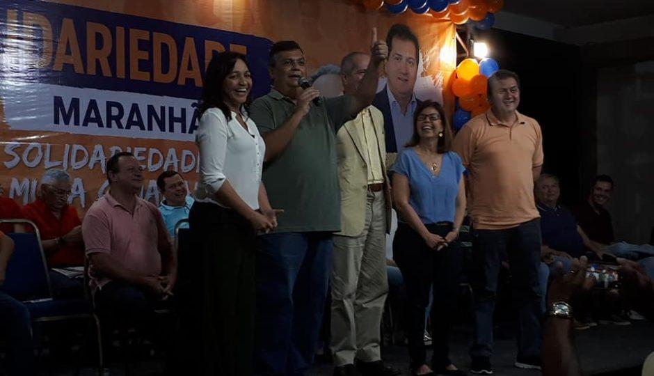 Crime: Flávio Dino pede voto em evento transmitido pela internet
