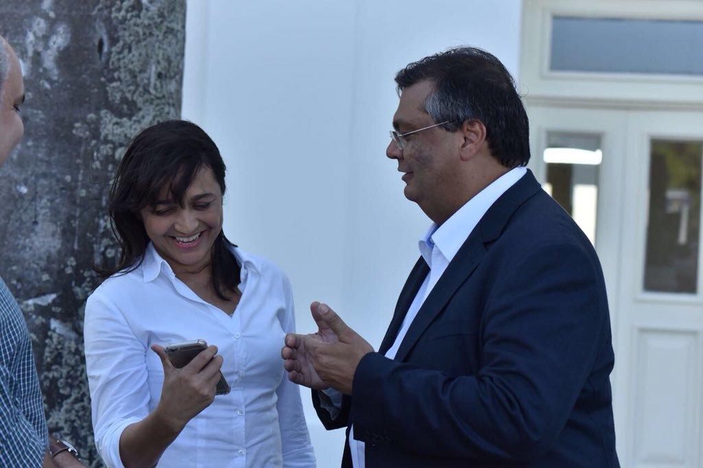 Eliziane Gama falta sessões da Câmara para colar em Flávio Dino