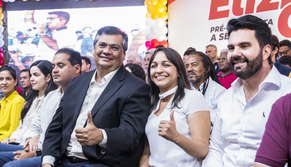 Flávio Dino lança pré-candidatura de Eliziane Gama ao Senado