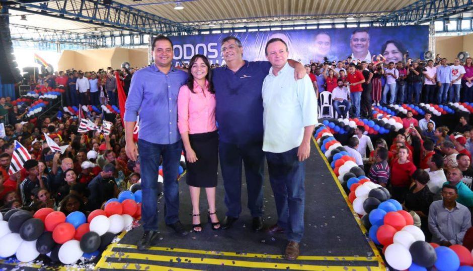 Convenção com 15 partidos confirma coligação de Flávio Dino