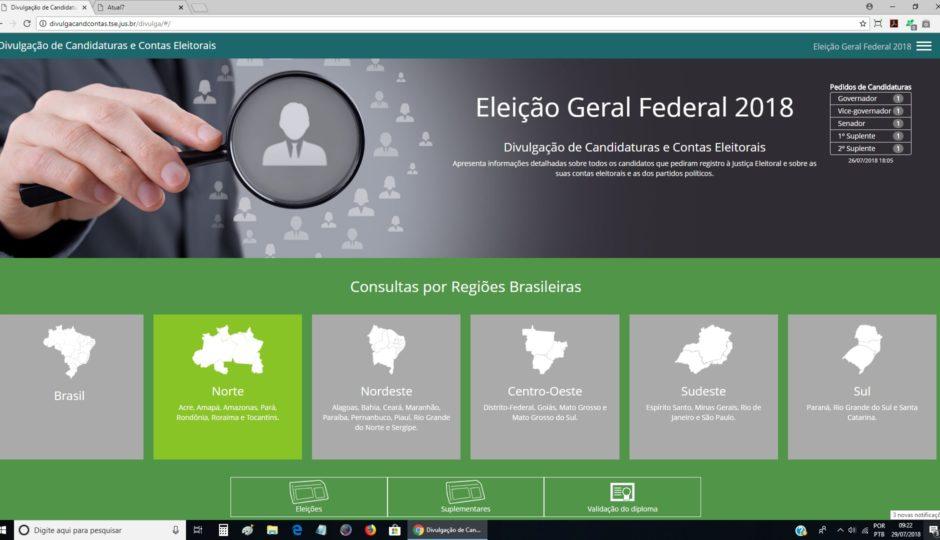 Eleitor já pode consultar prestações de contas eleitorais de 2018