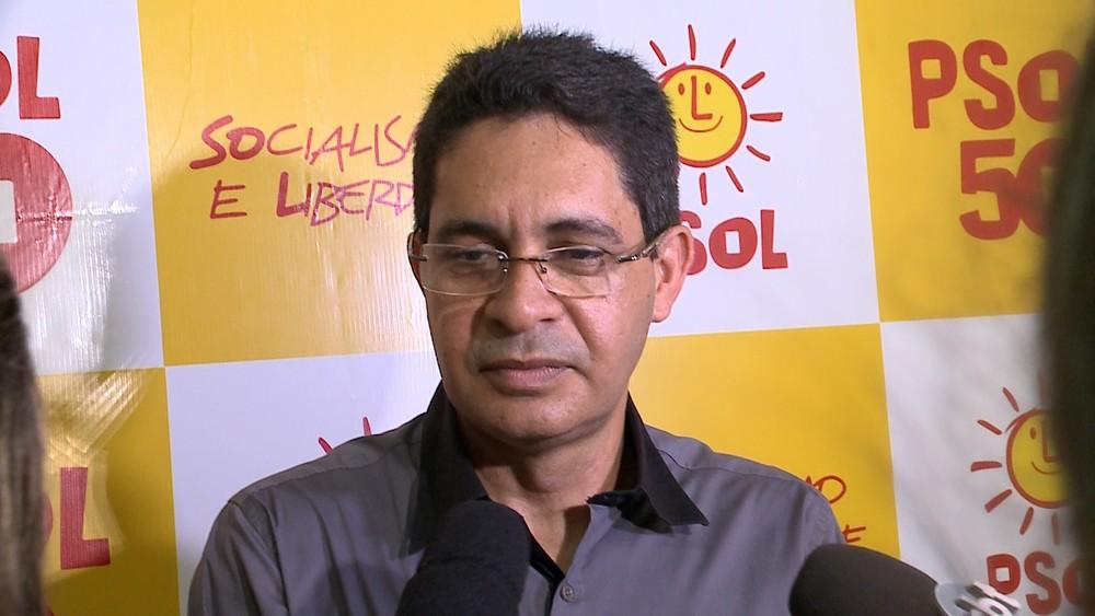 PSOL oficializa candidatura de Odívio Neto a governador do Maranhão