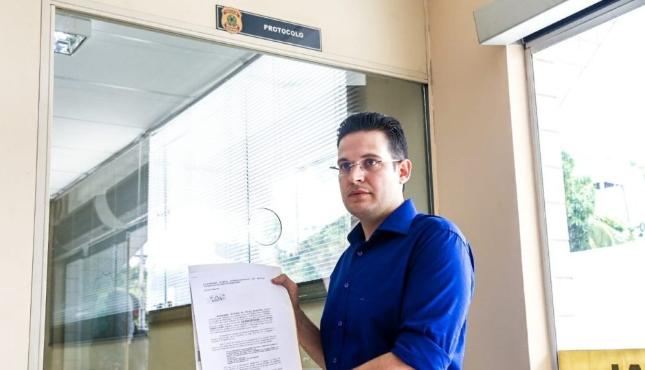 Alexandre Almeida denuncia Edinho Lobão à PF por suposta ameaça