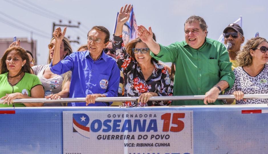 RealTime BigData aponta 2º turno entre Dino e Roseana