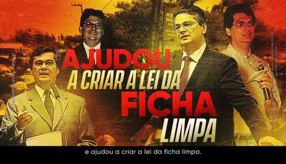 Dino lembra em propaganda que ajudou a criar lei que tornou Lula inelegível