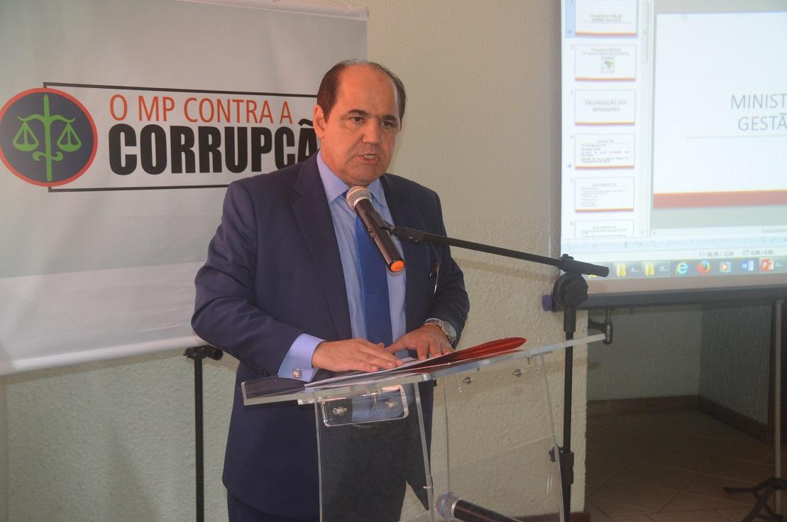Consulta de Gonzaga sobre nomeação de parente ainda aguarda resposta do CNMP