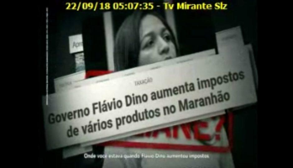 Na TV, Lobão questiona Eliziane sobre sumiço durante arrochos de Dino
