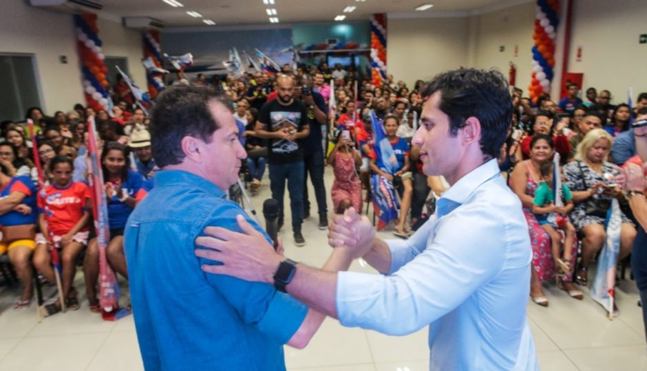 Simplício Araújo doa R$ 100 mil para campanha de Duarte Júnior