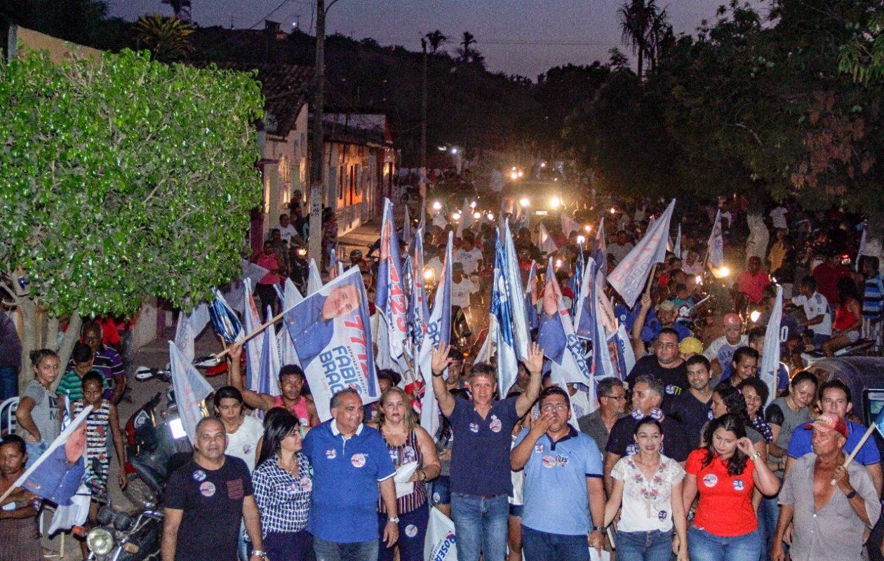 Atos de campanha reforçam força de Aluisio Mendes no interior do MA