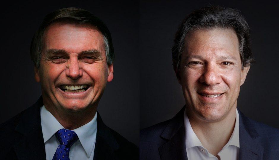 Bolsonaro tem 60% e Haddad tem 40% em nova pesquisa BTG Pactual