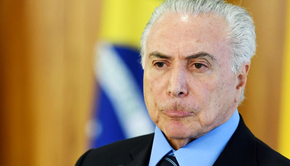 PF indicia Temer por corrupção passiva, lavagem de dinheiro e organização criminosa