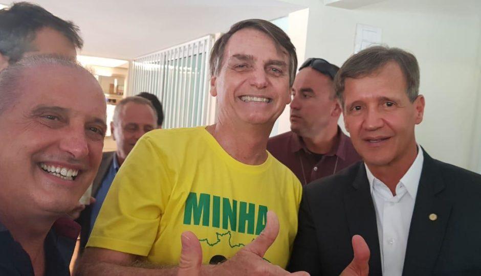 Bolsonaro se reúne com Aluisio; Maranhão e Segurança Pública são pautas
