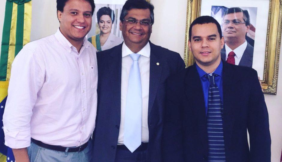 Dino confirma permanência de Felipe Camarão e Diego Galdino no governo