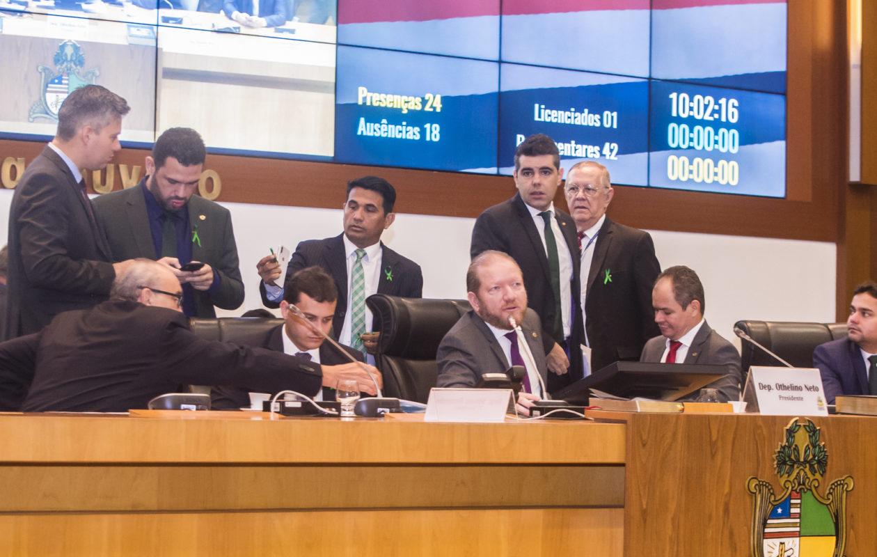 Assembleia aprova orçamento de 21 bilhões para governo Dino em 2019